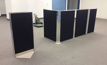LC Armored mobile Partitions and panels
