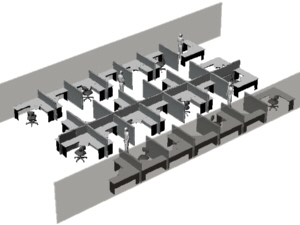 sample office partition layouts 6